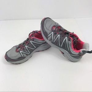 Fila Grey Pink Athletic Shoes 7.5